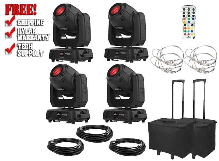 Chauvet DJ Intimidator Spot 360 Four Pack