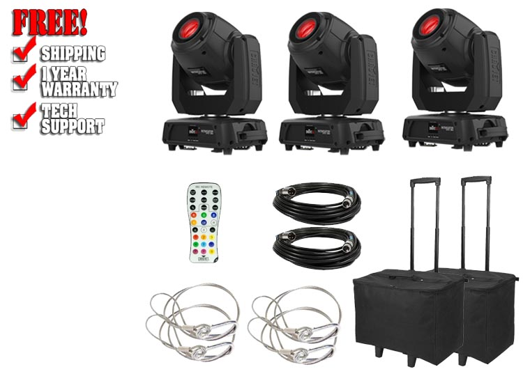 Chauvet DJ Intimidator Spot 360 Three Pack