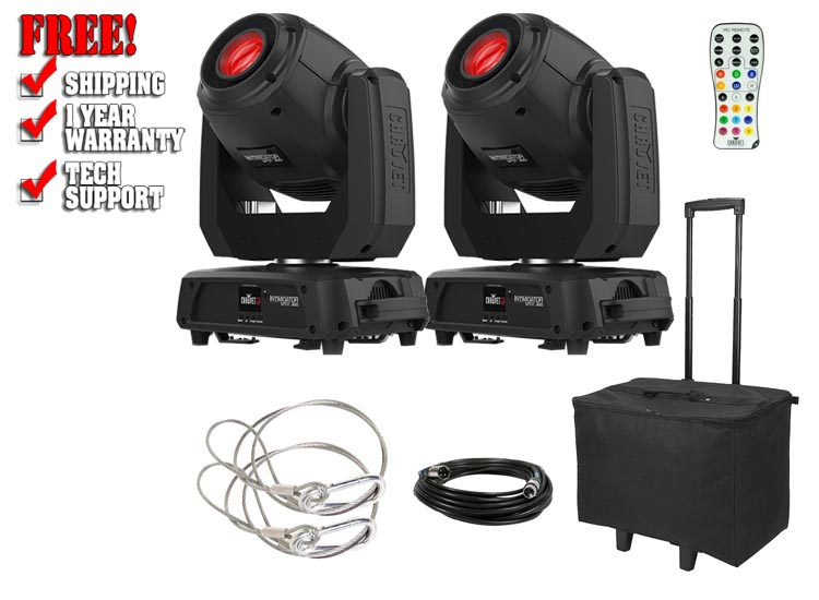 Chauvet DJ Intimidator Spot 360 Two Pack