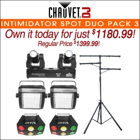 Chauvet DJ Intimidator Spot Duo Pack 3