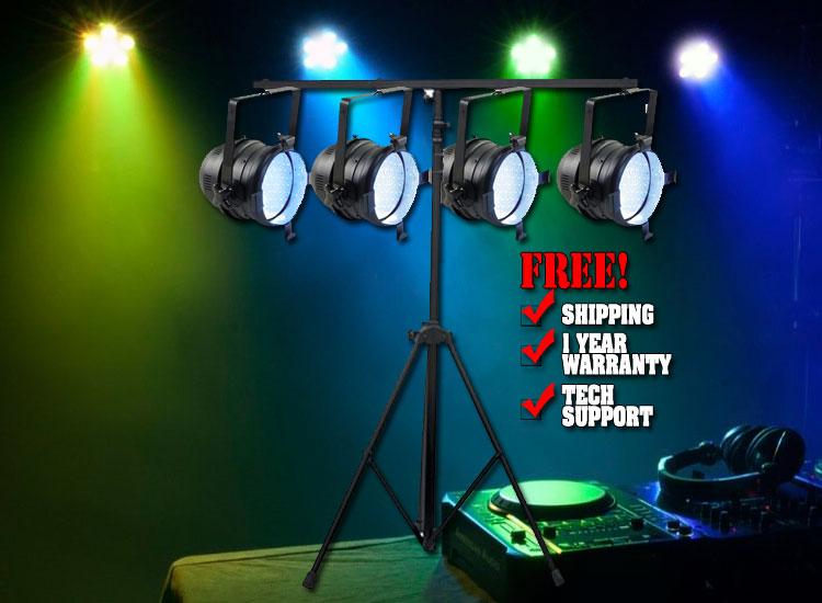 Par 64 LED Can Pack