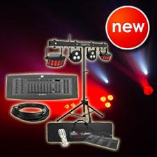 Chauvet DJ GigBar Flex System with American DJ DMX Controller