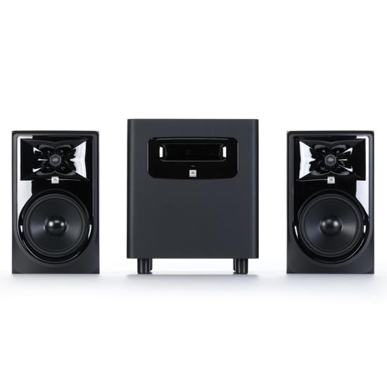 JBL 306P MkII Studio Monitors Pair with LSR310S Bundle