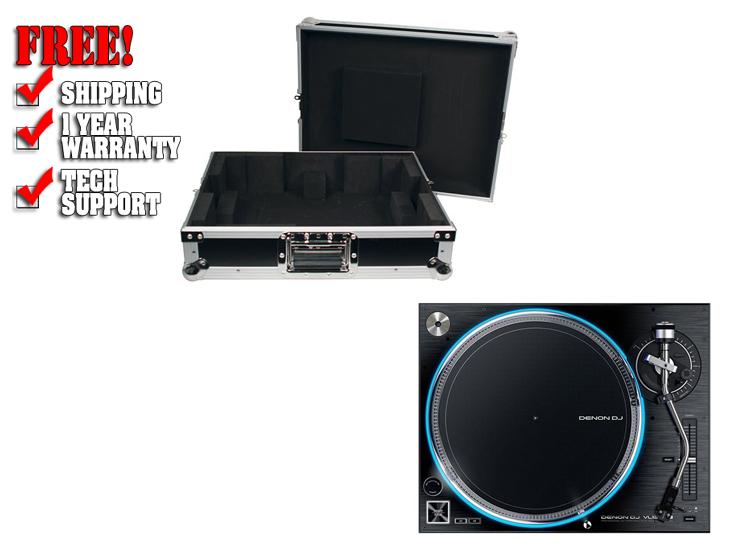 Denon VL12 Prime Direct Drive Turntable w/ Case   DJ