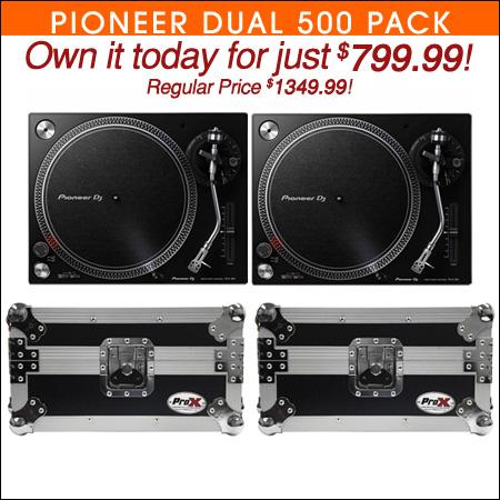 Pioneer Dual 500 Pack