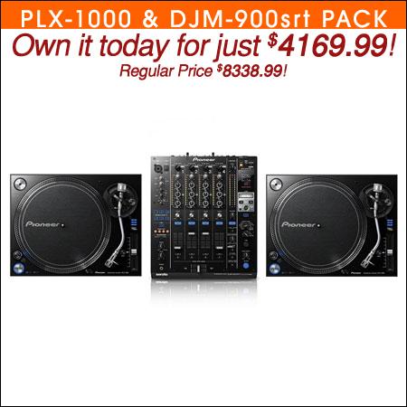 Pioneer PLX-1000 & DJM-900srt Turntable