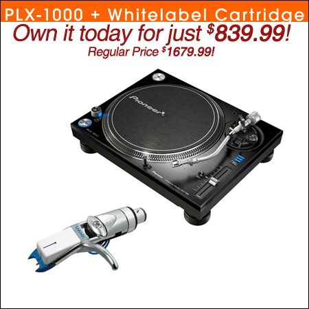 Pioneer PLX-1000 + Shure Whitelabel Cartridge