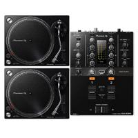 Pioneer DJM-250MK2 DJ Mixer & (2) PLX-500K Turntables