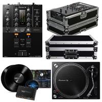 Pioneer DJM-250MK2 Mixer with PLX-500K Turntable & Pioneer DS1