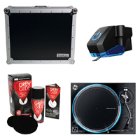 Denon VL12 Prime Turntable w/ Case & Accessories