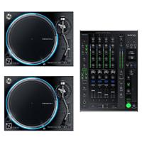 Denon VL12 Prime Turntables w/ X1800 Prime Mixer