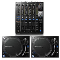 Pioneer PLX-1000 & DJM-900srt Turntable