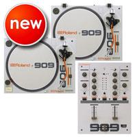 Roland DJ 909 Set w/ TT-99 Turntables (2) & DJ-99 Mixer
