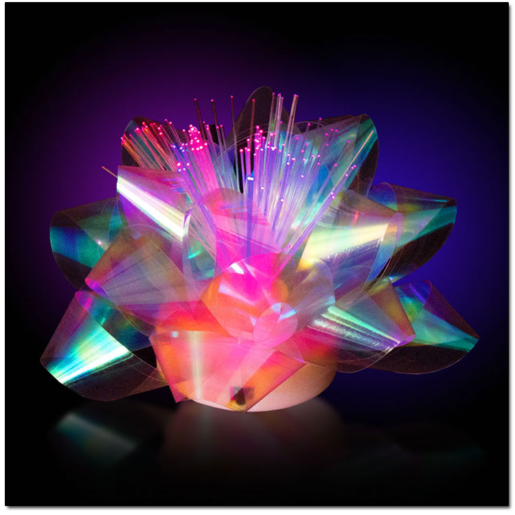 led bows novelty color changing bow lights great for christmas. Black Bedroom Furniture Sets. Home Design Ideas