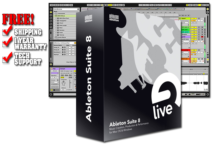 ableton live analog synth