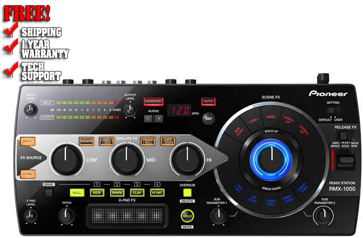 Pioneer RMX1000 Sound Effects Unit