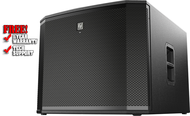 ETX18SP 18-inch 1800 Watt Powered Subwoofer