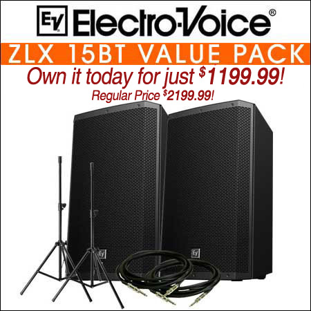 Electro Voice ZLX-15BT VALUE PACK