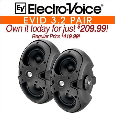 Electro Voice EVID 3.2 Pair