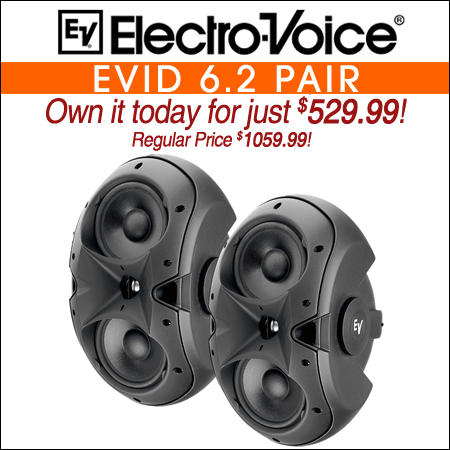 Electro Voice EVID 6.2 Pair