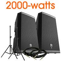 Electro Voice ZLX-12BT VALUE PACK
