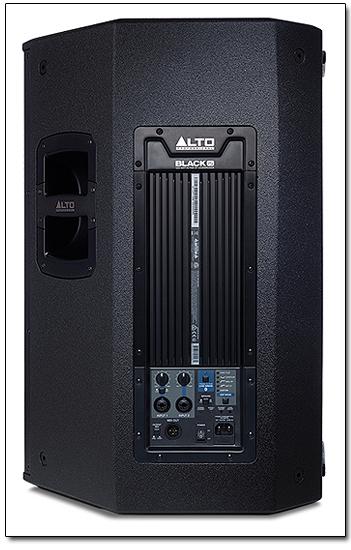 Alto Black 15 2 Way 2400 Watt Active Loudspeaker With