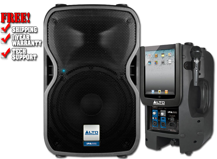 Alto Ipa Music System Two Way Speaker System With 400