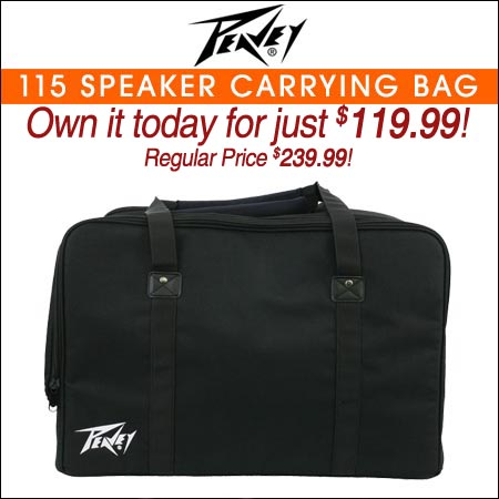 Peavey 115 Speaker Carrying Bag