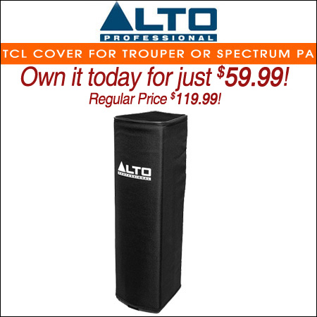 Alto Padded Slip-On TCL Cover for Trouper or Spectrum PA
