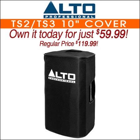 """Alto TS2/TS3 10"""" Cover"""