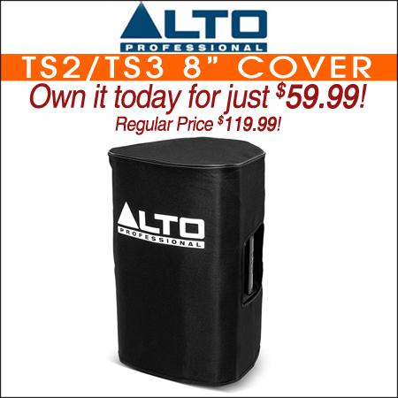 """Alto TS2/TS3 8"""" Cover"""