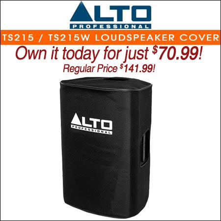 Alto Padded Slip-On Cover for TS215 / TS215W Loudspeaker