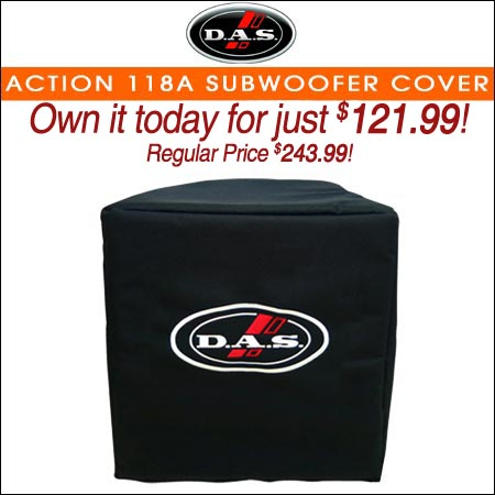 Das Action 118A Subwoofer Cover
