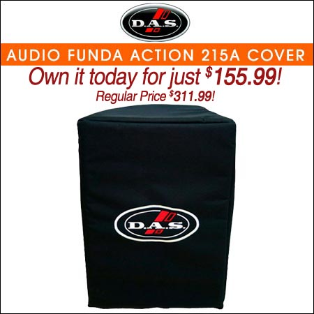 DAS Audio Funda Action 215a Cover