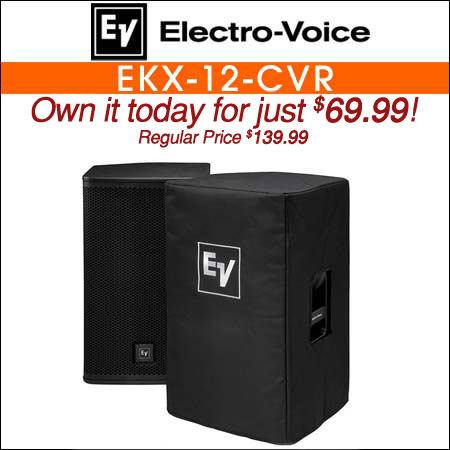 Electro Voice EKX-12-CVR Padded Speaker Cover