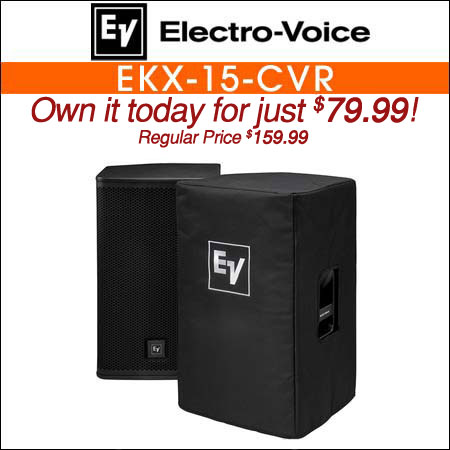 Electro Voice EKX-15-CVR Padded Speaker Cover