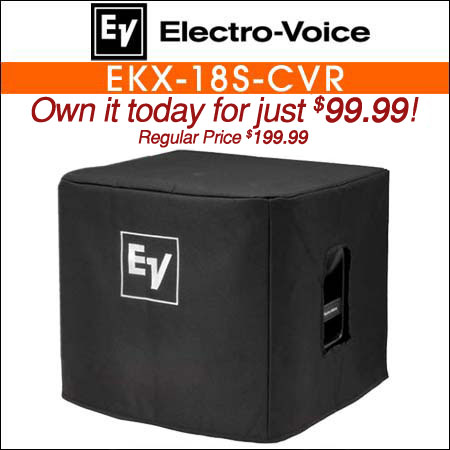 Electro Voice EKX-18S-CVR Padded Speaker Cover