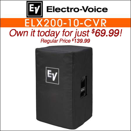 Electro Voice ELX200-10-CVR Padded Cover for ELX200-10 or ELX200-10P
