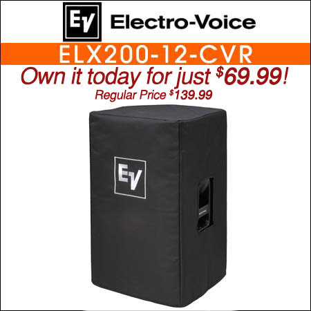 Electro Voice ELX200-12-CVR Padded Cover for ELX200-12 or ELX200-12P