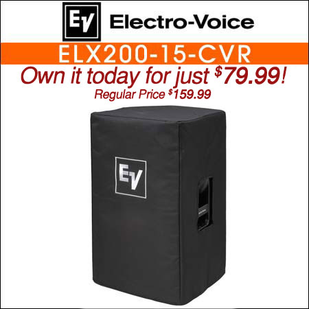Electro Voice ELX200-15-CVR Padded Cover for ELX200-15 or ELX200-15P