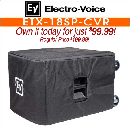 Electro Voice ETX-18SP-CVR Padded Speaker Cover