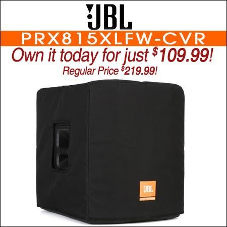 JBL Bags PRX815XLFW-CVR Deluxe Cover