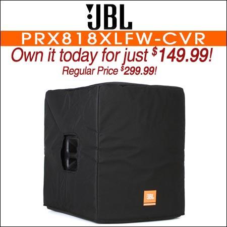JBL Bags PRX818XLFW-CVR Deluxe Cover