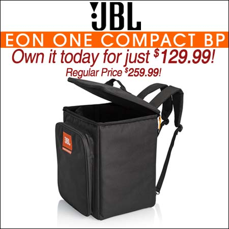 JBL Bags EON-ONE-COMPACT-BP Backpack