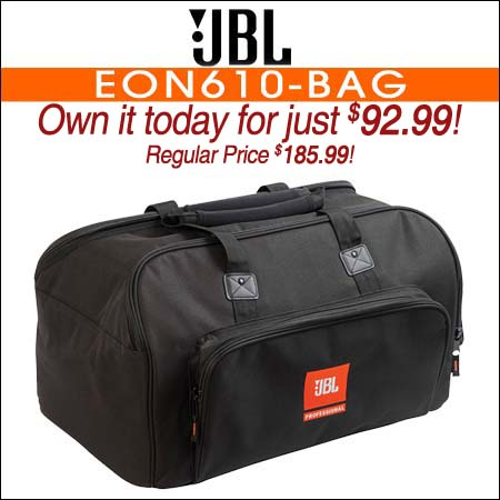 JBL Bags EON610-BAG Carry Bag for EON610