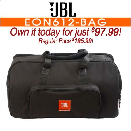 JBL Bags EON612-BAG Carry Bag for EON612