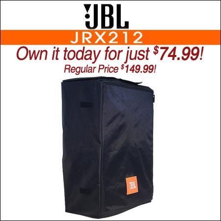 JBL JRX212 Cover Black