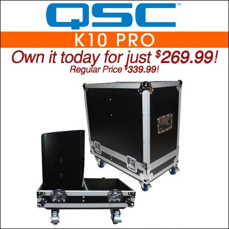 QSC K10 Pro Flight Case