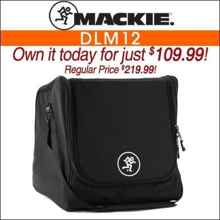 Mackie DLM12 Speaker Bag