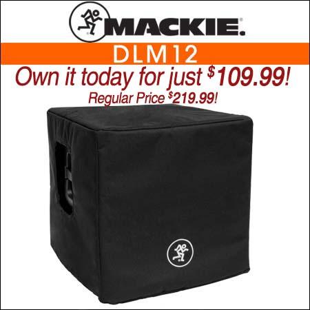 Mackie DLM12 Speaker Cover